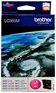 Brother LC985M - Cartucho original, magenta