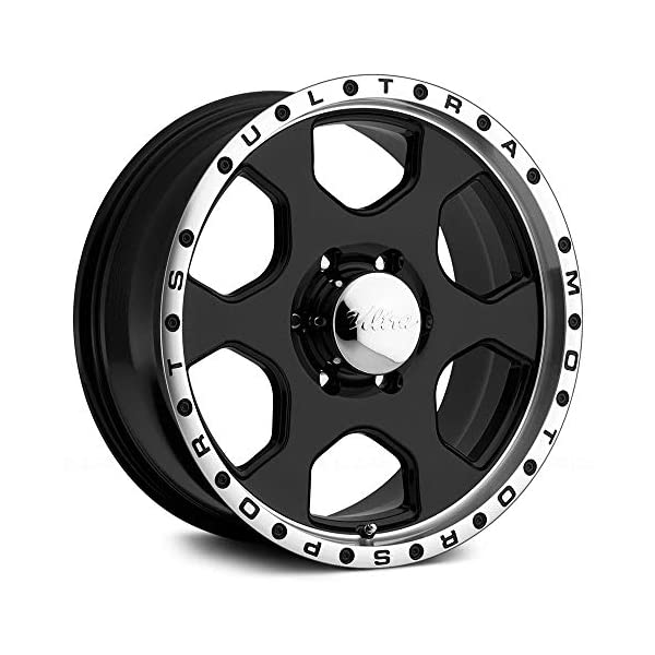 Ultra-175-Rogue-ustom-Wheel-Gloss-Black-with-Diamond-Cut-Lip-17-x-8-25-Offset-6×135-Bolt-Pattern-87mm-Hub
