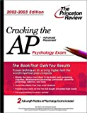 Cracking the AP Psychology, 2002-2003 Edition, Robert Sternberg, 0375762280