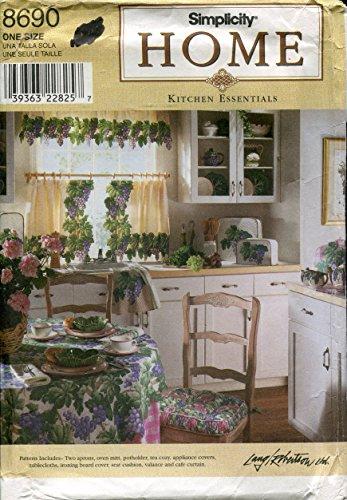 - Simplicity Home Pattern 8690 ~ Kitchen Essentials