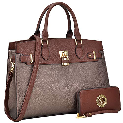 Fashion Woman Handbag &Wallet Lady Tote Designer Satchel Top Handle Purse Cross-body 6876 CF
