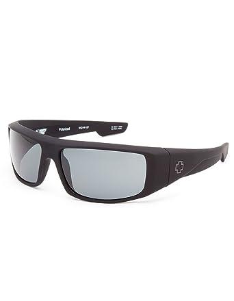 328348f19d Amazon.com  SPY Happy Lens Logan Polarized Sunglasses