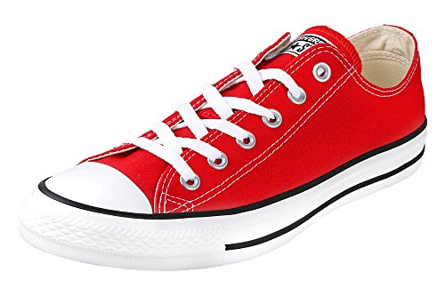 Converse Chuck Taylor All Star Core Canvas Low Top Sneaker Red 43 M EU/11.5 B(M) US Women/9.5 D(M) US Men Converse Red Shoes