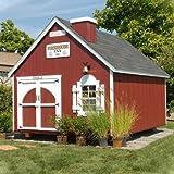 Firehouse Kit Playhouse Size: 8 x 8, Chimney: No, Floor Kit: No