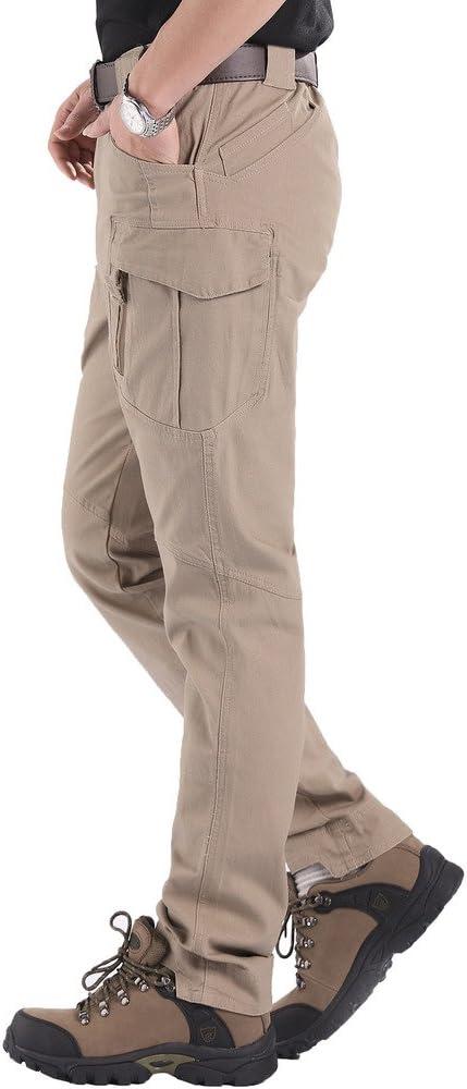 Lorata Pantalones Largos Hombre de Senderismo Casuales