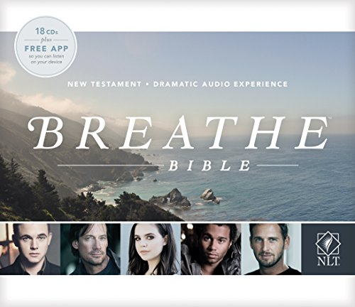 Breathe Bible New Testament NLT Audio CD