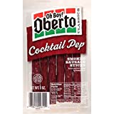 Oberto Classics Cocktail Pep Smoked Sausage Sticks, 3 Ounce Package (Pack of 8)