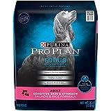 Purina Pro Plan Sensitive Stomach Dry Dog Food; FOCUS Sensitive Skin & Stomach Salmon & Rice Formula - 30 lb. Bag