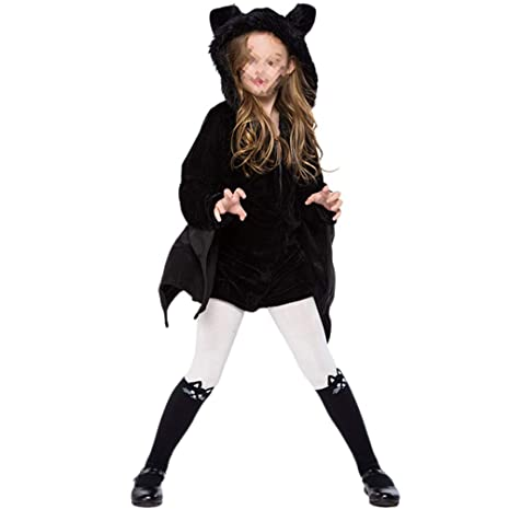 Amosfun Disfraz de murciélago para niños de Halloween Vestido de ...