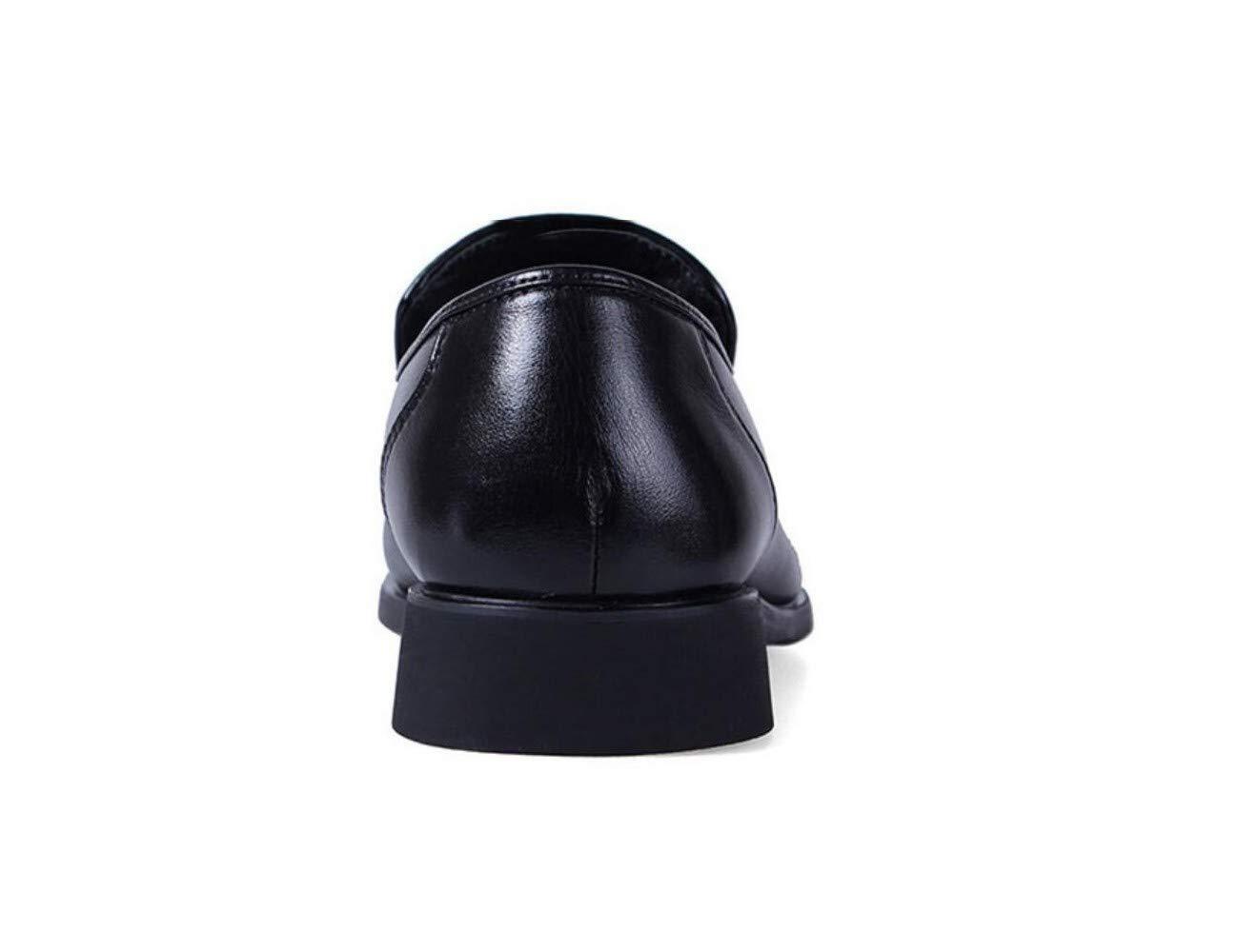 Jiang ZX Herren Schuhe, Schuhe, niedrige Schuhe, Business Schuhe, Herren verschleißfest, atmungsaktiv, braun, 39 Schwarz 4a987e
