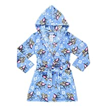 Girls Sleep Robe | Soft & Comfy Fleece HoodedBathrobe