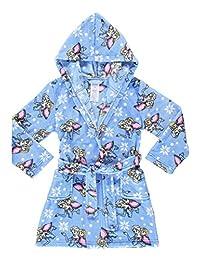 Girls Sleep Robe | Soft & Comfy Fleece Hooded Bathrobe