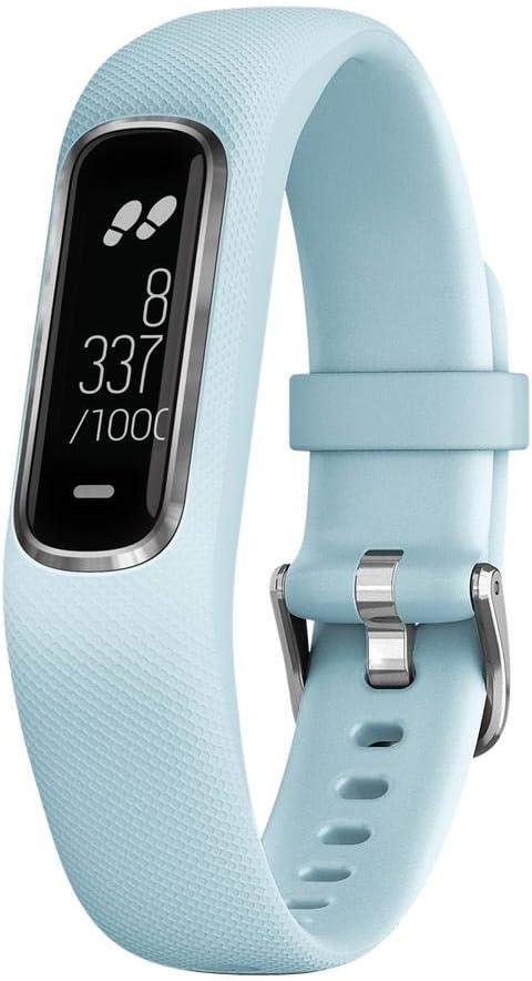 Garmin VIVOSMART 4 Azul S/M Seguimiento de Actividad Inteligente, Adultos Unisex