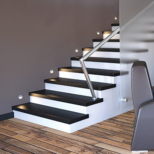 Circular Step Stair Deck Light Zonk Wall Surface Mount Led