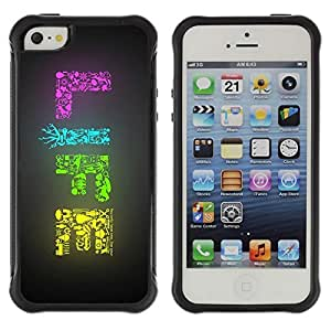 Hybrid Anti-Shock Defend Case for Apple iPhone 6 4.7 6 4.7 LIFE Colorful