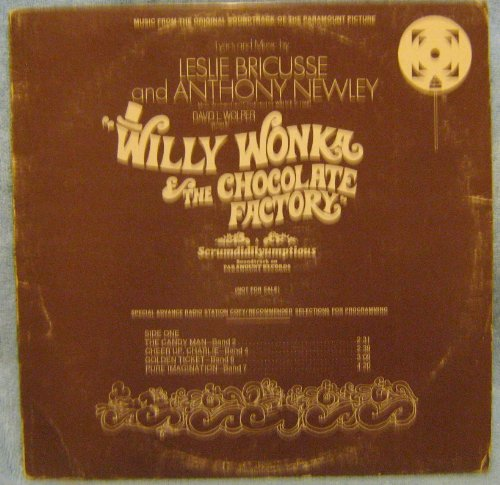 Willy Wonka and the Chocolate Factory Promotional Copy