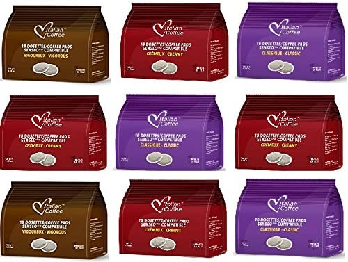 Senseo Capsulas Compatibles 162 ud (9 x18 Monodosis de Café ...