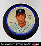 1962 Salada Coins # 72 Norm Cash Detroit Tigers (Baseball Card) Dean's Cards 5 - EX Tigers