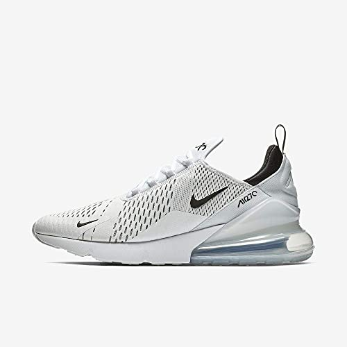 Nike Air Max 270 Men's Running Shoes WhiteBlack White AH8050 100 (11 D(M) US)