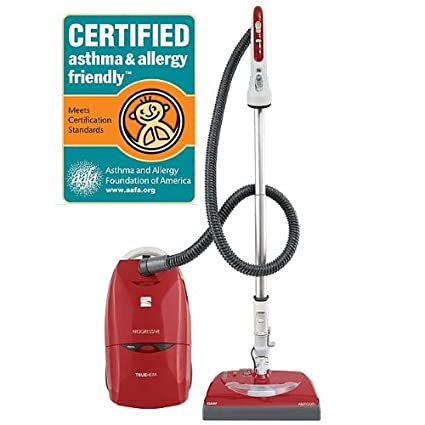 Kenmore 21714 Progressive Canister Vacuum Cleaner Red W Swivel Plus Steering System