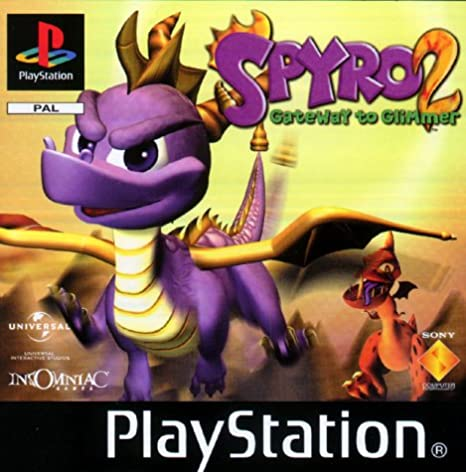 PS1 - Spyro 2: Gateway to Glimmer: Amazon.es: Videojuegos