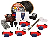 Cheap Underground Electric Dog Fence Ultimate – Extreme Pro Dog Fence System for Easy Setup and Maximum Longevity and Continued Reliable Pet Safety – 5 Dog | 1500 Feet Pro Grade Dog Fence Wire