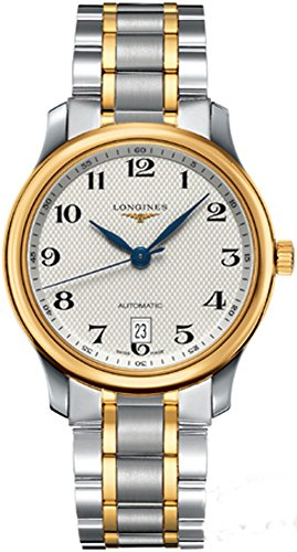 Longines Master Collection Automatic in Steel and 18k Gold Transparent Case Back Women's Watch