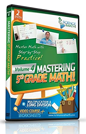 Amazon.com: Mastering 5th Grade Math - Vol 4 - Multiplication and ...