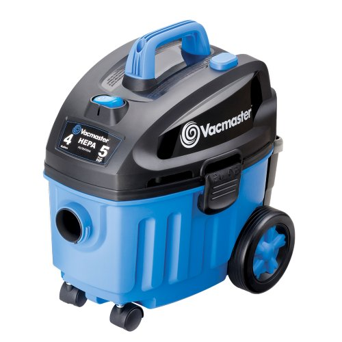 Vacmaster, VF408 , 4 Gallon 5 Peak HP with 2-Stage Industrial Motor Wet/Dry Shop Vacuum