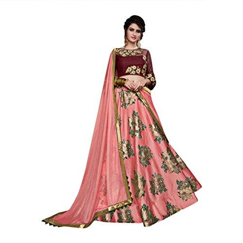 Women Lehenga Choli Dupatta Bollywood Collection Suits for Bridal Wedding Ceremony 784 (Choli Suit)