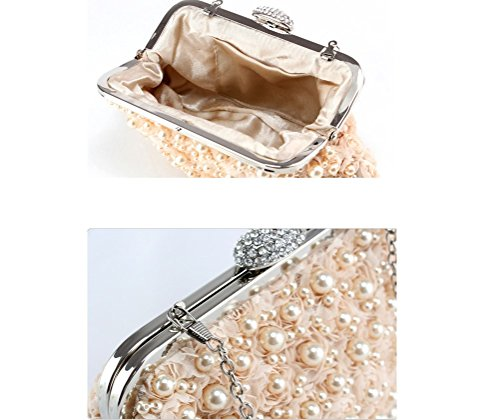 Bags Beaded Ms Bags ZYXCC Women's Champagne Bags Bags SHISHANG Evening Fashion gold Dress Crossbody qnHWtIt