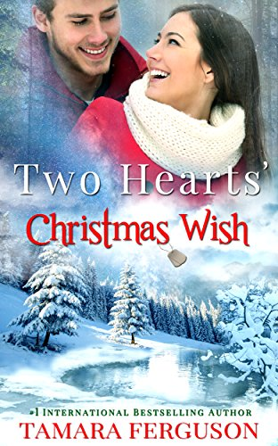 Jason made a wish when he'd shared a kiss with Katherine  under the mistletoe fourteen years ago. Now an Air Force Captain and wounded warrior, Jason is returning back to the states to find Katherine. Will there still be that special Christmas magic between them to make those long ago wishes come true?Tamara Ferguson's holiday military romance TWO HEARTS' CHRISTMAS WISH