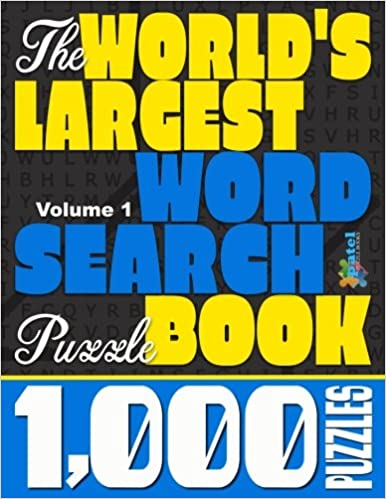 The World's Largest Word Search Puzzle Book: 1, 000 Puzzles