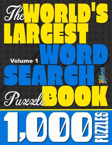 The World's Largest Word Search Puzzle Book: 1,000 Puzzles (Vol. ()