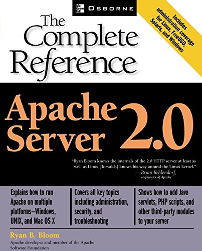 Apache Server 2.0: The Complete Reference Reader