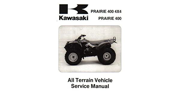 99924 1201 02 1997 1998 kawasaki kvf400 prairie 4 4 service manual rh amazon com 1997 kvf 400 service manual Service Station