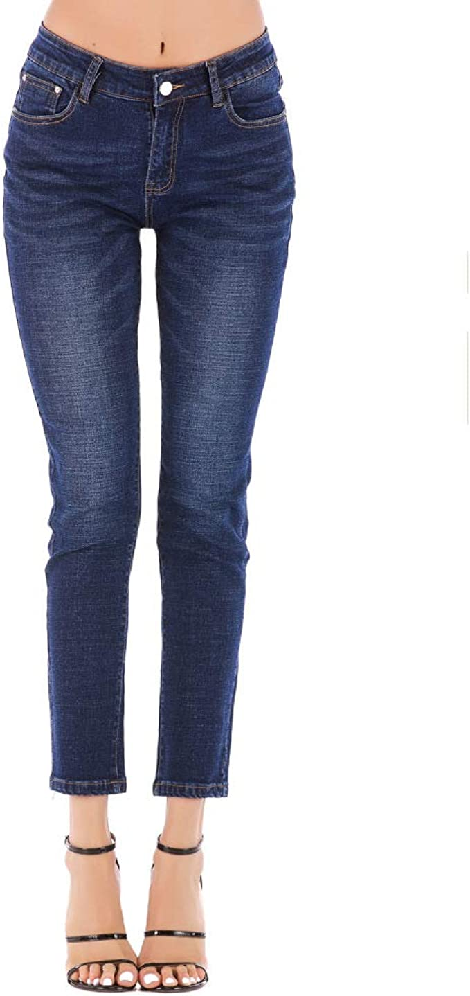 JYKING - Pantalones de chándal para Mujer, Color Azul Claro ...