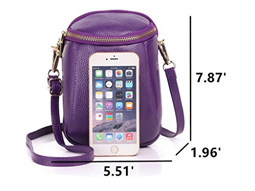 Samsung Edge 8 Cell And Fits Violet Plus Small Iphone Women 6s S8 7 Galaxy S7 Zg Crossbody 6 Phone Purse For XxZw67gqH