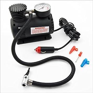 Relaxdays Bomba de aire eléctrica 12V, compresor para coche y camión: Amazon.es: Coche y moto