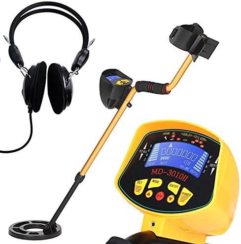LED//Indicador de indicaci/ón de Audio Gold Digger Metales precisos Discriminaci/ón Bobina a Prueba de Agua Gold Digger Seeker Fishlor Detector de Metales precisos