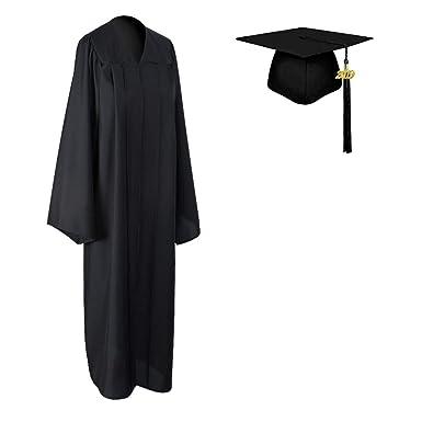 b1513720099 COKOSIM Unisex Adult s Matte Graduation Gown Cap Tassel Set 2019 for High  School and College Ceremony