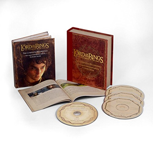 The Lord Of The Rings: The Fellowship Of The Ring - The Complete Recordings (3CD/1Blu-Ray)
