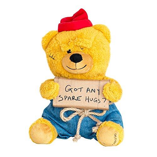 """Hollabears 10"""" Hobo Got Any Spare Hugs? Teddy Bear Plush from Hollabears"""