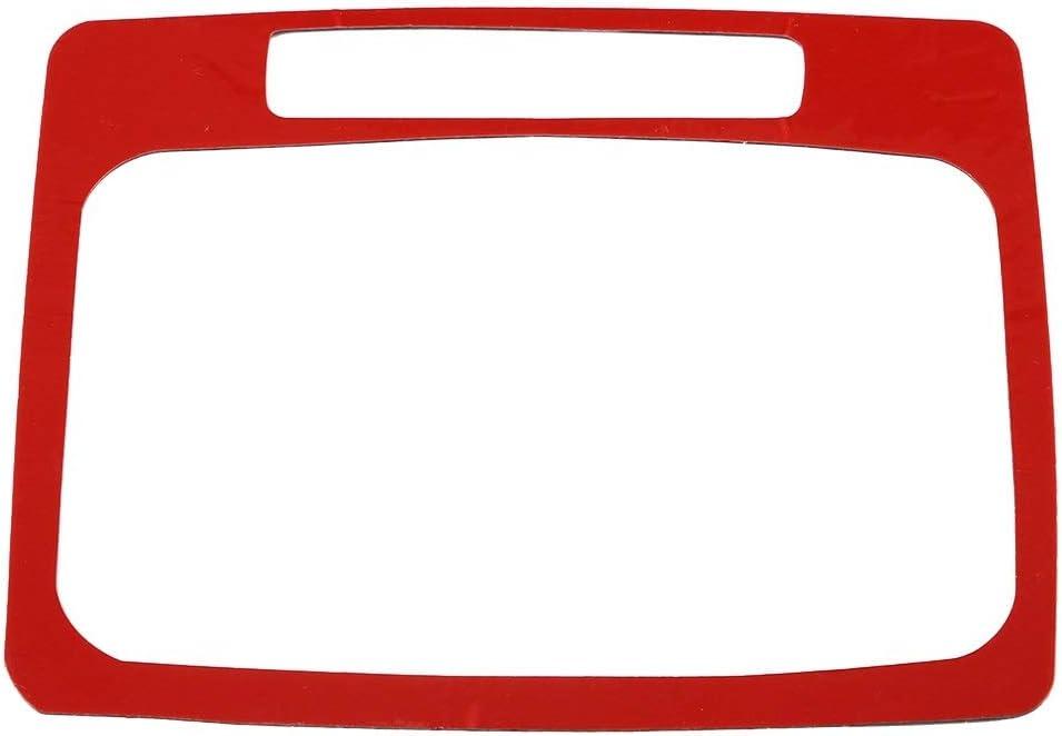 panneau de levier de vitesses automobile en fibre de carbone accessoires d/écoratifs Dibiao Couverture de garniture de panneau de vitesse de voiture de 1 pi/èce pour Mercedes W204 2005-2012