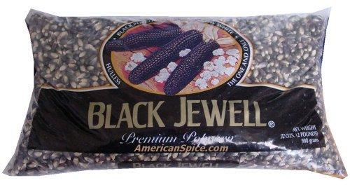 Black Jewel Popcorn Bulk 28 ounces (Jewel Popcorn Black)