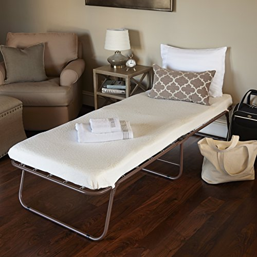 Night Therapy Weekender Elite Folding Guest Bed Frame with Bonus Storage Bag