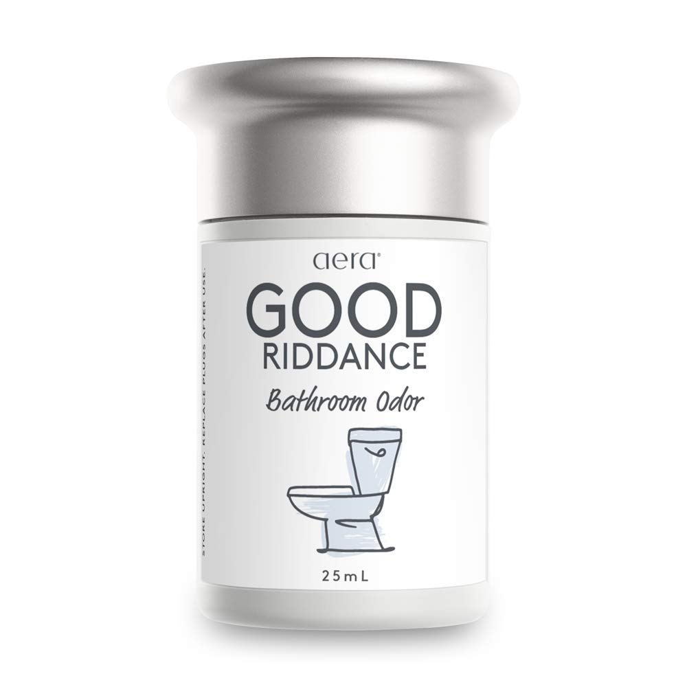 Good Riddance Bathroom Odor Home Fragrance with Notes of Rosemary, Grapefruit and Cypress