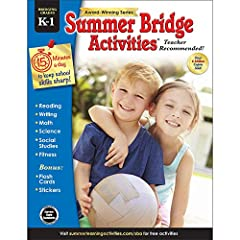 "AWARD-WINNING WORKBOOK: Summer Bridge Activities is the recipient of the 2018 Kids' Product of the Year Award and Travel Fun of the Year Award from ""Creative Child Magazine."" This workbook was designed to prevent summer learning loss and help..."