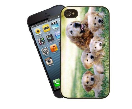 Hund Tel. Fall, design 4 - für Apple iPhone 4 / 4 s - Cover von Eclipse-Geschenkideen