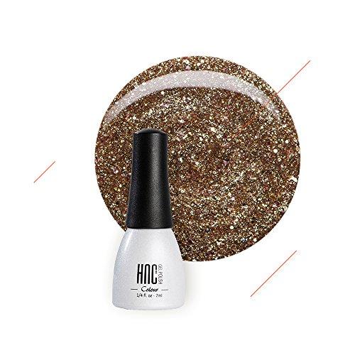 nail polish golden color - 9